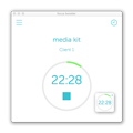 Focus booster press kit, desktop timer with mini version